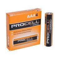 AAA金霸王Procell电池- 4包
