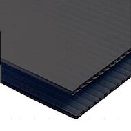 黑色冠状体4' x 8'