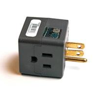 立方体水龙头- 3插座库珀布线装置