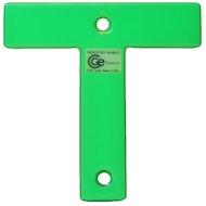 工业T标志-荧光绿色
