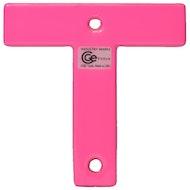T标志-荧光粉色