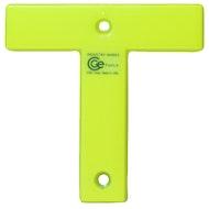 工业T标志-荧光黄色