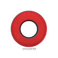 圆形大超细纤维眼垫-红色