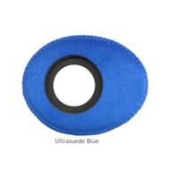 椭圆形小超细纤维眼垫-蓝色