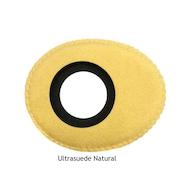 椭圆形小超细纤维眼垫-天然