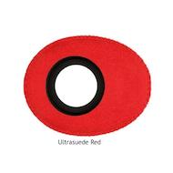 椭圆形小超细纤维眼垫-红色