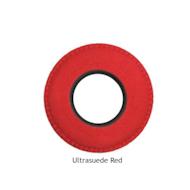 圆形小超细纤维眼垫-红色