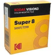 柯达VISION3 500T彩色负片#7219 -超级8mm x 50'卷