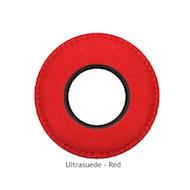 圆形特大号超细纤维眼垫-红色
