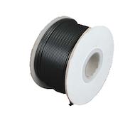 拉链软线18AWG 2线(灯线)黑色- 250英尺线轴