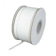 拉链软线18AWG 2电线(灯线)白色- 250英尺线轴