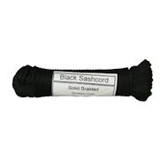 """黑色吊带绳- 100英尺. 汉克(1/4"""")"""