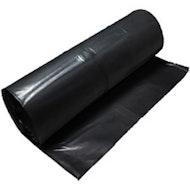 黑色聚薄膜,20' x 100' 6mil (Visqueen)