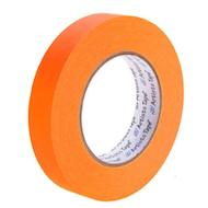 """1""""荧光橙色艺术家/控制台纸带"""