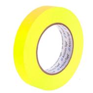 """1""""荧光黄色艺术家/控制台纸带"""