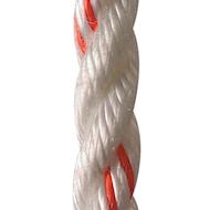 """多股- 3/8""""白色/橙色示踪剂600英尺线轴"""