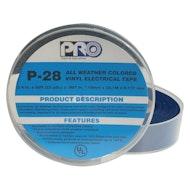 P-28蓝色电气胶带
