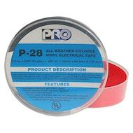P-28红色电气胶带