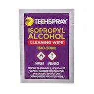 Techspray异丙醇湿巾-单身