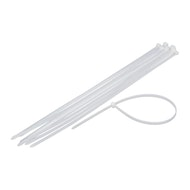 """11"""" Cable/Zip Ties White - 100 ct."""
