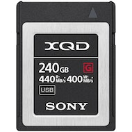 240Gb XQD Card G Series Memory Card