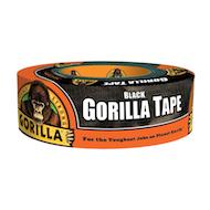 "2"" Black Gorilla Tape - 2"" x 35yd"