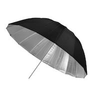 "Westcott 45"" Umbrella - Silver/ Black"