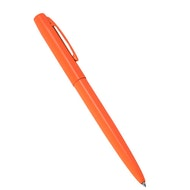 Orange Metal Clicker Pen