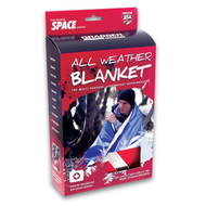 All Weather Space Blanket: Red
