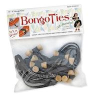 """BongoTies - 5"""" Elastic Cable Ties - 10 Pack"""