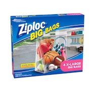 XL Ziploc Bags 10 Gallon 4pk