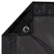4x4 - Black Silk Slip On