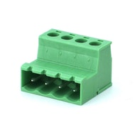 Phoenix Connector, 4-pin Male