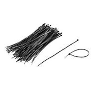 """8"""" Cable/Zip Ties Black - 100 ct."""