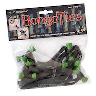 BongoTies 10-pack - Green Bongo Pin