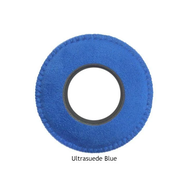 Round Large Microfiber Eyecushion - Blue