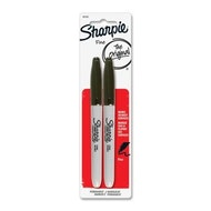 Sharpie Fine-Point Black - 2 Pack