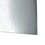 "Showcard - Shiny Silver - 28"" x 44"""