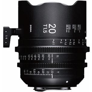 Sigma 20mm Cine Prime