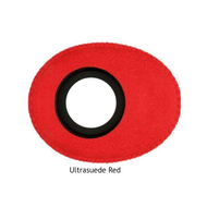 Oval Small Microfiber Eyecushion - Red