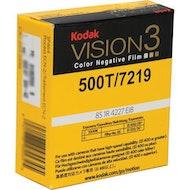 Kodak VISION3 500T Color Negative Film #7219 - 16mm x 100' Roll