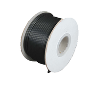 Zip Cord 18AWG 2 wire (lamp cord) Black - 250 ft spool