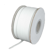 Zip Cord 18AWG 2 wire (lamp cord) White - 250 ft spool