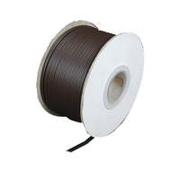 Zip Cord 18AWG 2 wire (lamp cord) Brown - 250 ft spool
