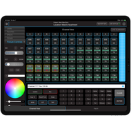 Blackout Lighting App with iPad Pro