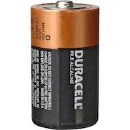 D Duracell Coppertop Battery - single