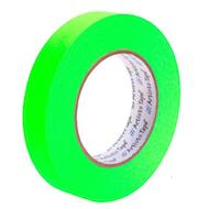 "1"" Fluorescent Green Paper Tape"