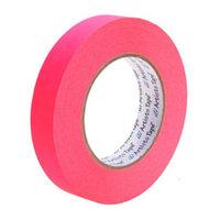"""1"""" Fluorescent Pink Paper Tape"""