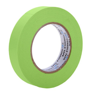 """1"""" Green Paper Tape"""