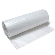 Clear Poly Sheeting 20' x 100' 6mil (Visqueen)